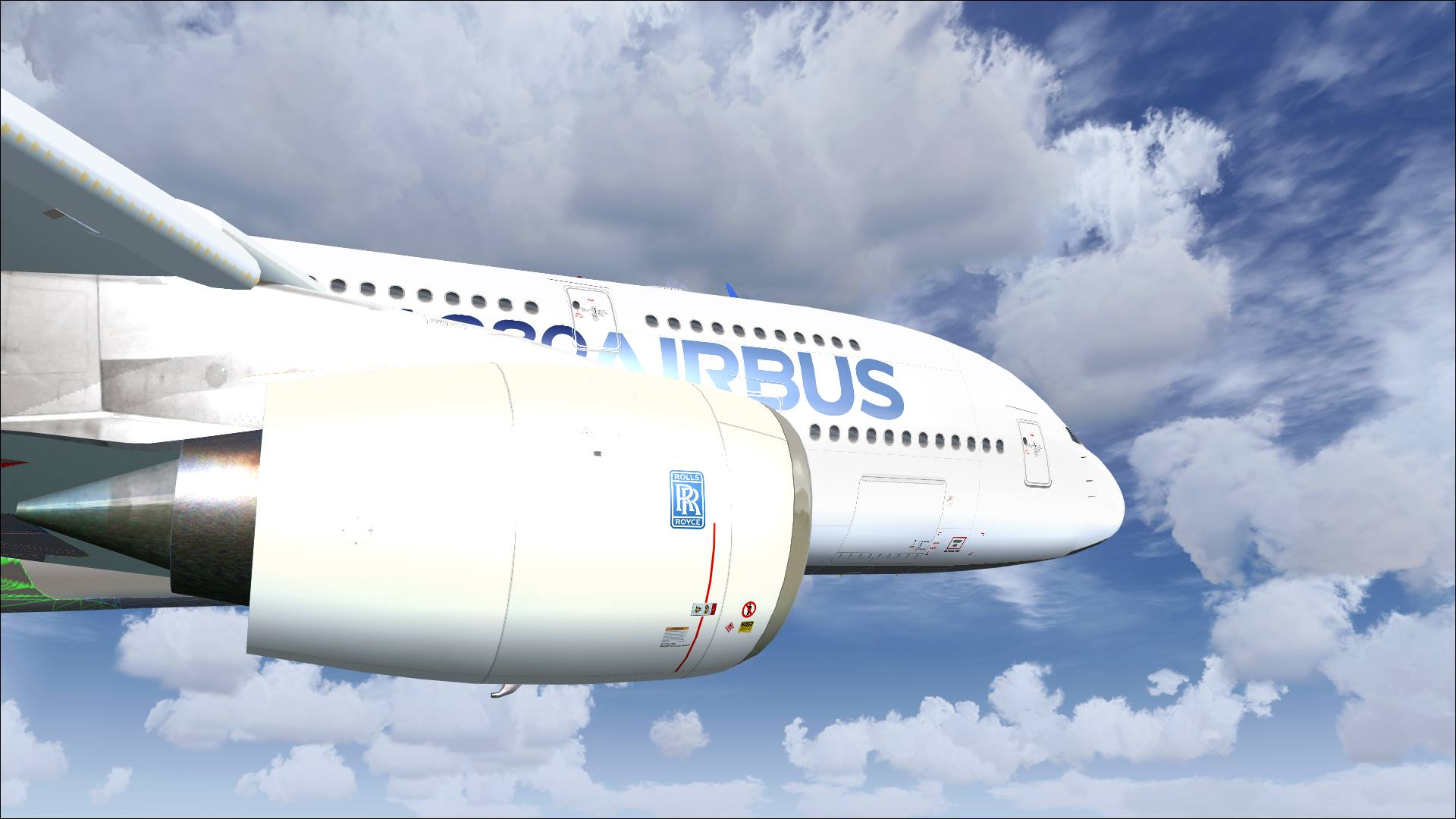 CLS Airbus A380 Dev Screenshots! | PC Flight