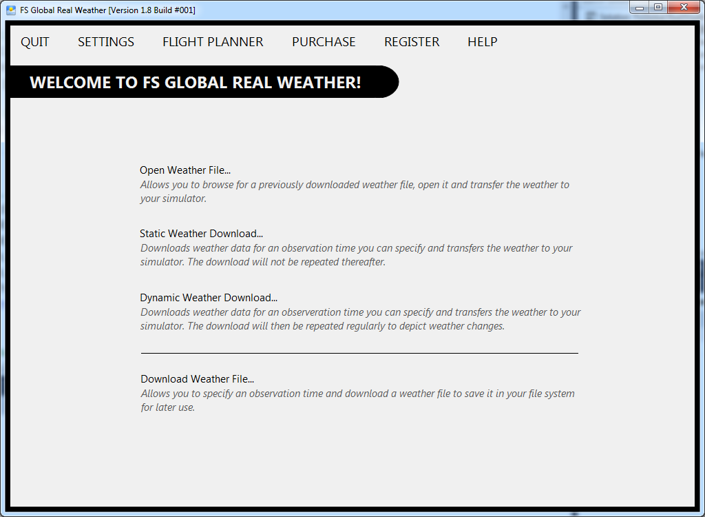 FS Global Weather