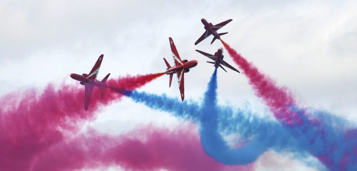 Red Arrows at RIAT 2015