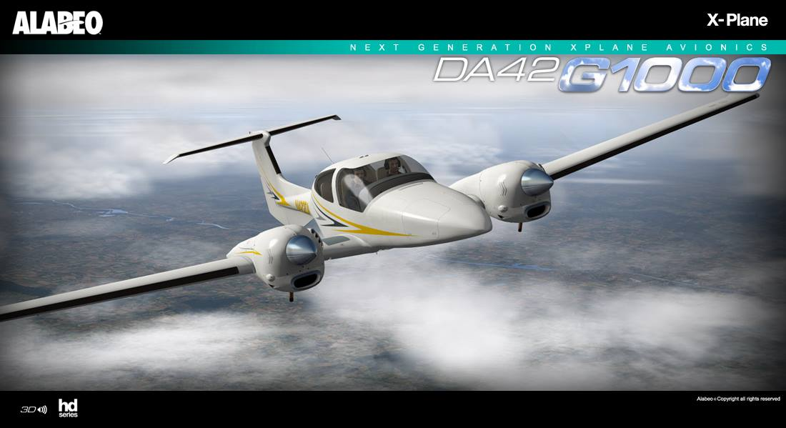 Alabeo DA42 for X-Plane Released! | PC Flight