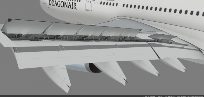 Aerosoft A330X Wing Previews!
