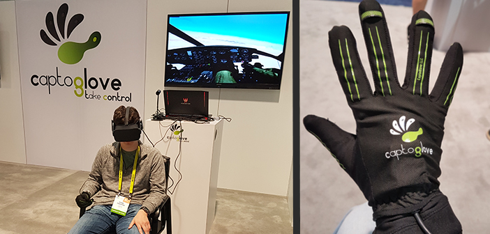 CES 2017 | CaptoGlove – Wearable Gaming Motion Controller