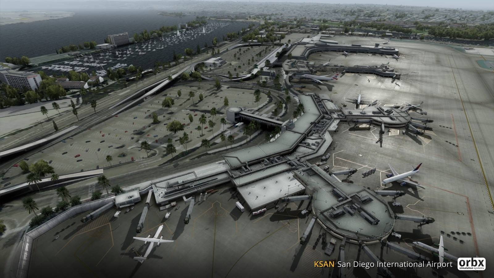 Fsx San Diego Scenery | scenerywallpaper website