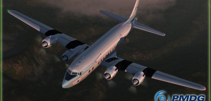 PMDG DC-6 Cloudmaster for FSX & P3D Release Today!