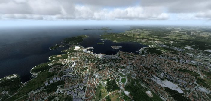 Orbx LDPL Pula Airport Preview!