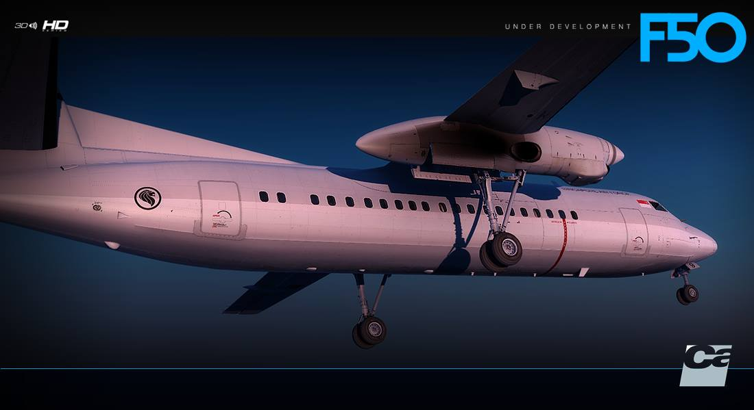 Carenado Fokker F50 Previews Released! | PC Flight