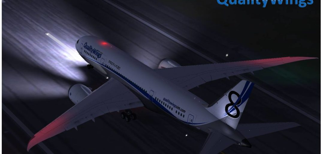 QualityWings Ultimate 787 Released For P3D V4!