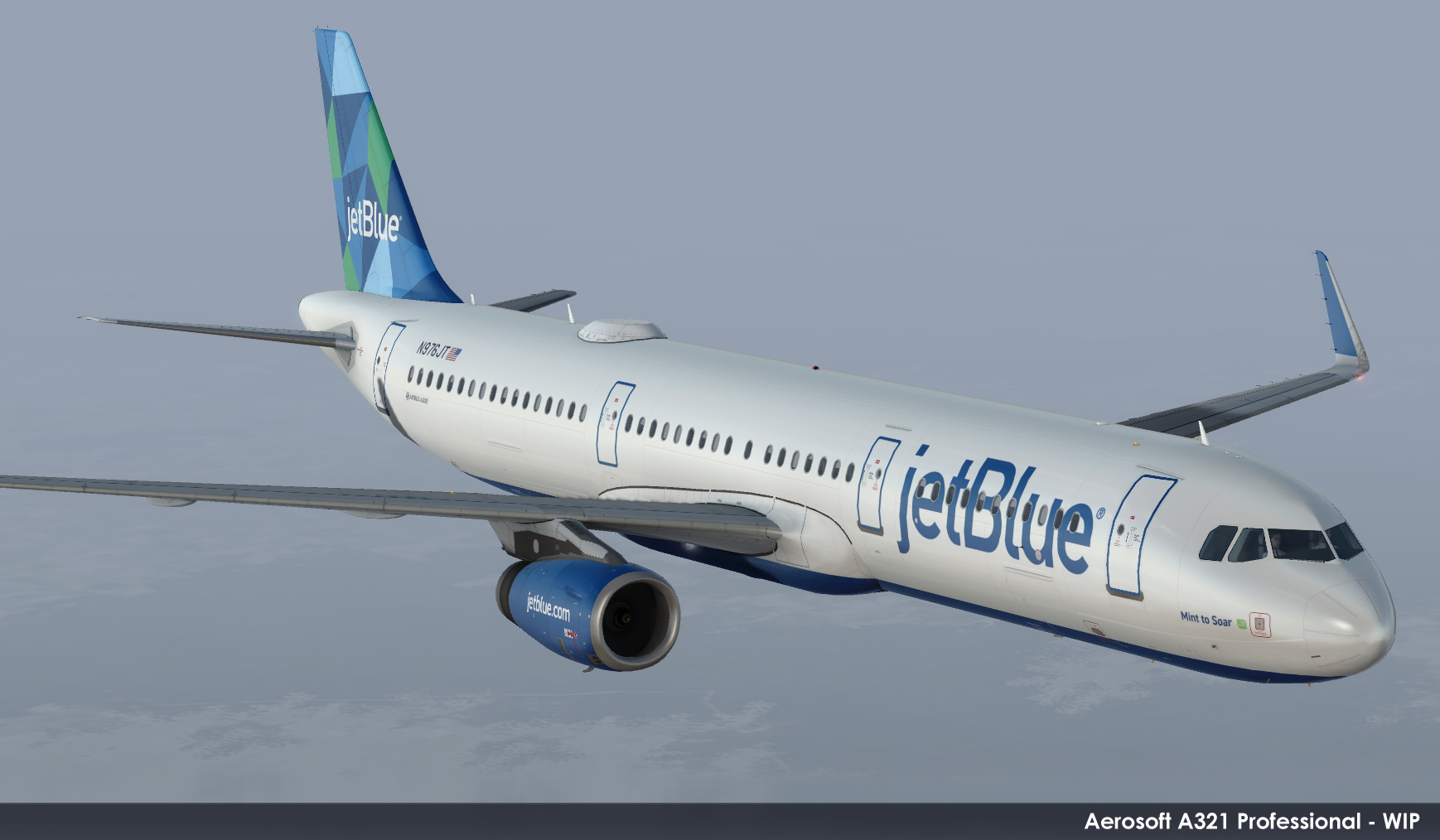 Aerosoft A321 Professional jetBlue Previews! | PC Flight