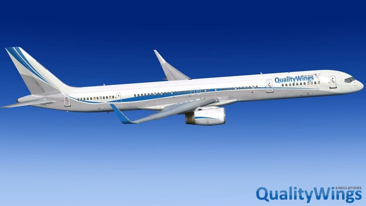 QualityWings Update 757 for P3D V4! | PC Flight